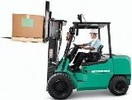 Thumbnail Mitsubishi Forklift Truck FD20HS, FD25HS, FD30HS, FG20S, FD25S, FG30S Operating and Maintenance Instructions