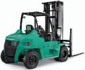 Thumbnail Mitsubishi Diesel Forklift Truck  FD70N (AF20D-10011-up) Operating and Maintenance Instructions